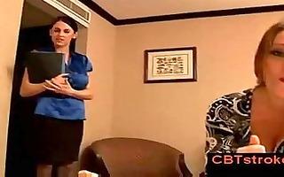 nikita law and louise jenson give coarse femdom
