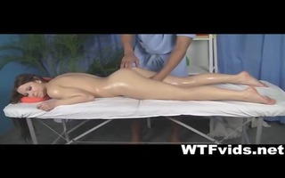 hawt nude massage receives the girl extremely
