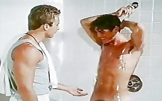 original vintage homosexual fuck in the shower