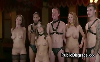 not many tied hotties drilled at birthday party