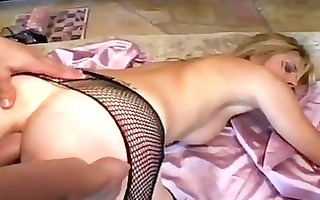 crystal ray is nasty and lustful in her nylons