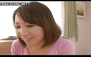 pleasant asian wife
