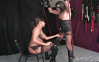 she loves to fuck when he is is tied and in pain