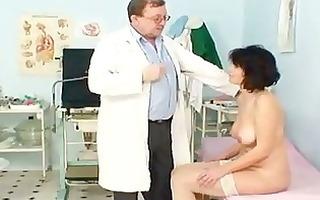older man doctor gives grandma radima a fu...