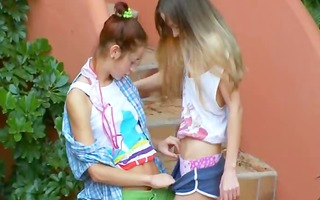 romantic lesbian adventure from slovakia