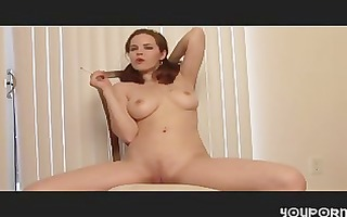 smokin hiedi masturbating for