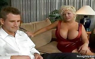 busty cougar claudia marie seducing sons ally