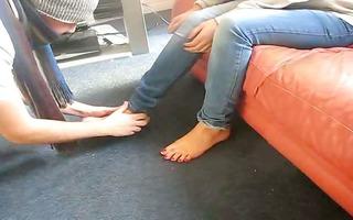 female-dom nia - indian femdom - hindi foot